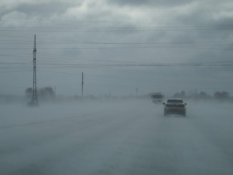 Липкий снег с дождем, гололед, накаты: природа издевается над жителями Сызрани