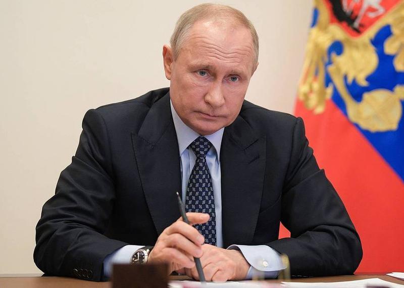Президент Владимир Путин выступит с видеообращением к нации